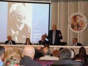 აკადემიკოს ნიკოლოზ ლანდიას 100 წლის იუბილე