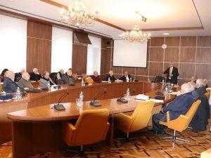Session of Ekvtime Takaishvili Historical Society of Georgia