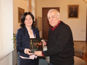 Meeting with the representatives of the Ministry of Education, Science, Culture and Sport of Georgia