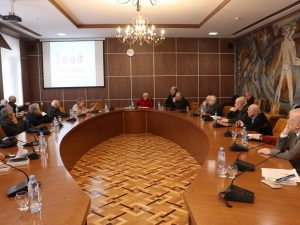 Meeting of the Commission for Studying of National Issues